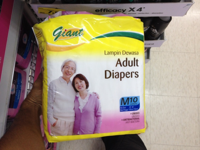 Giant Adult Diapers